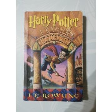 Harry Potter i kamień filozoficzny 1 polskie wyda