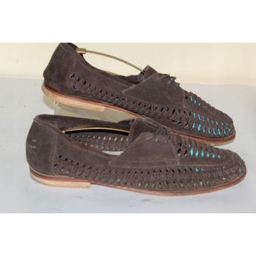 Buty OFFICE - 45 - półbuty skóra podeszwa sandały