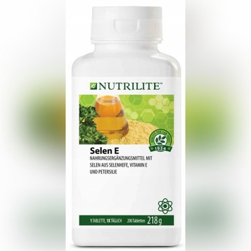 NUTRILITE Selen E 200 tabletek Amway