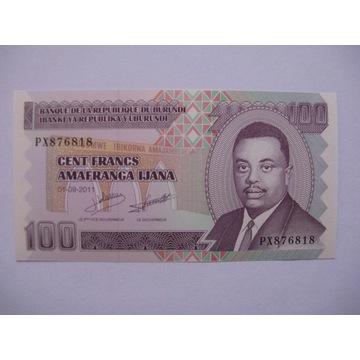 Burundi - 100 Francs - 2011 - P44 - St.1