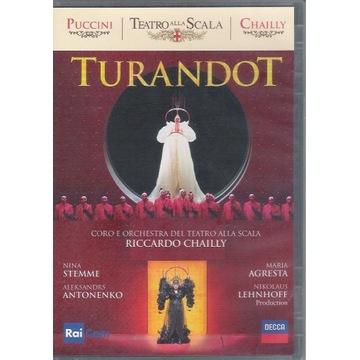 DVD Puccini TURANDOT Nina Stemme, Agresta