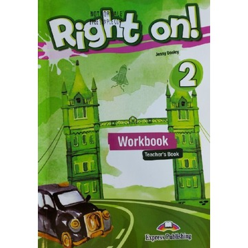 Right on! 2 workbook teacher's book