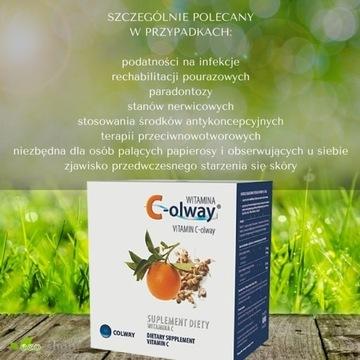COLWAY Witamina C-olway 120 kaps