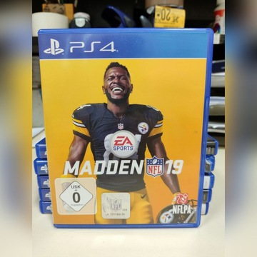 PS4 NFL Madden 19 rugby football gra