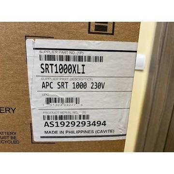 APC UPS SMART SRT1000VA