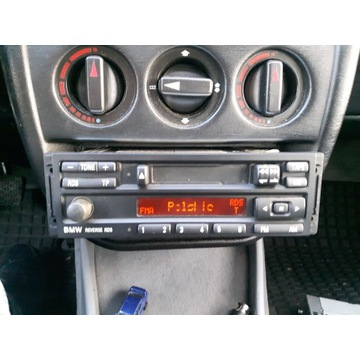 Oryginalne radio Bmw reverse rds e30 e32 e34 e36 z