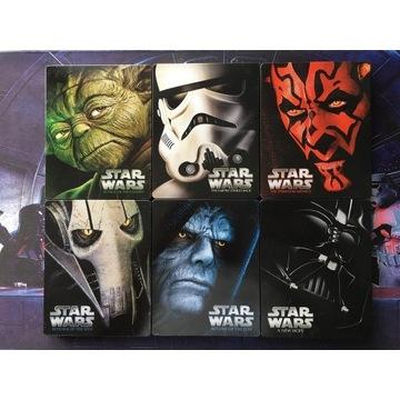 Gwiezdne Wojny: Kompletna Saga (Star Wars) (6xBR)