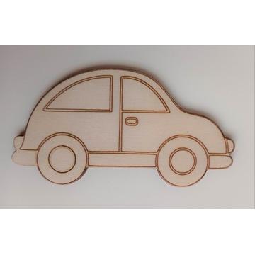 Auto samochód autko sklejka, dekor decoupage 85mm