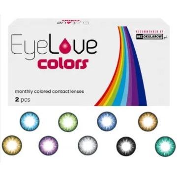 EyeLove Colors 2 szt. moc: 0,00 (PLAN) - soczewki