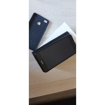 Huawei P9 lite 2017 Model PRA-LX1 Czarny +2x etui
