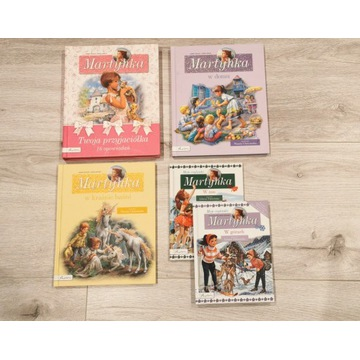5 x Książki z serii Martynka, dla dziewczynek