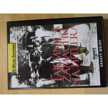 "___ DVD ""Tajemnice zamachu na Hitlera część 1"""