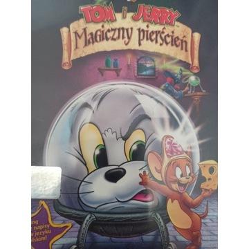 Tom i Jerry Magiczny pierścień DVD