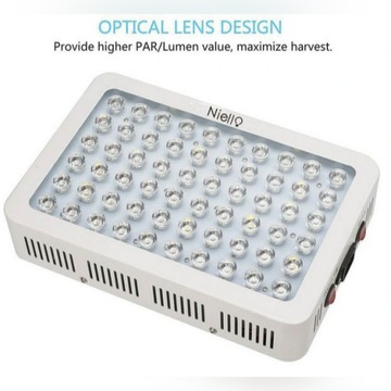 NIELLO GS300 LAMPA LED GROW LIGHT DO ROŚLIN SZKLAR