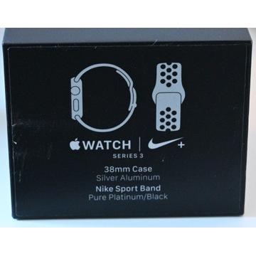 Apple Watch Series 3 38mm Srebrny