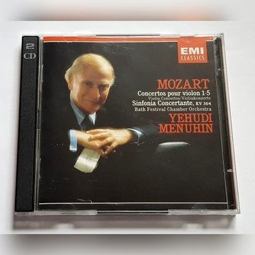 Mozart Violin 1-5 Menuhin 2 CD
