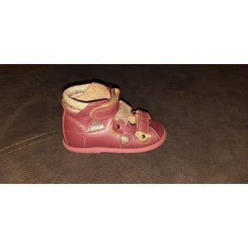 Buty dziecięce skórzane ortopedyczne roz. 21