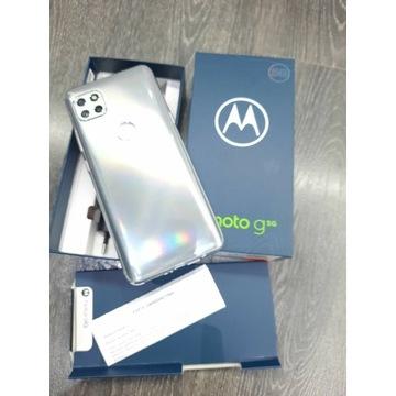 Motorola G5G Silver 64GB srebrna nowa faktura