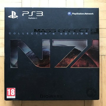 MASS EFFECT 3 N7 Collector's Edition [Ps3]