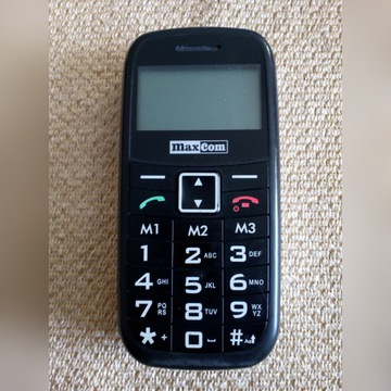 Telefon MaxCom MM350BB - na części