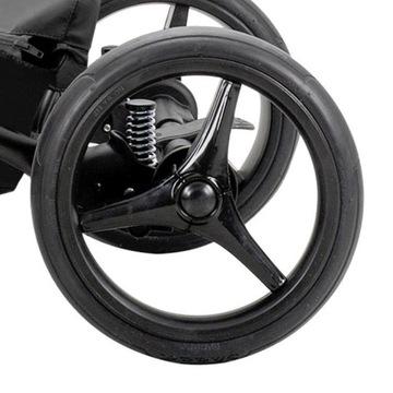 Koło do wózków Bebetto tylne bezdętkowe czarne