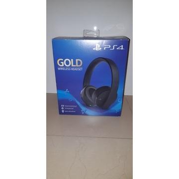 Słuchawki Sony Wireless Gold PlayStation