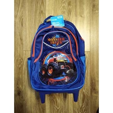 Plecak na kółkach dla chłopca