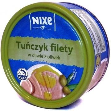 Nixe - tuńczyk filety w oliwie z oliwek 160 g