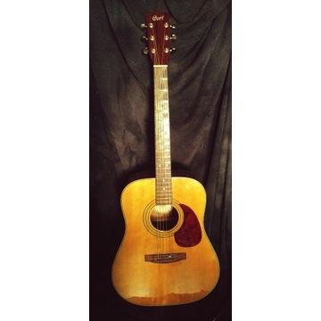 Gitara akustyczna Cort AD-870 NAT z pokrowcem