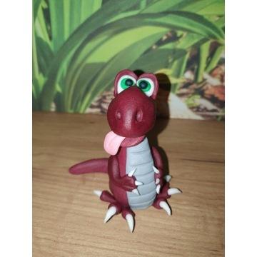 Figurka z masy cukrowej Dinozaur T-rex