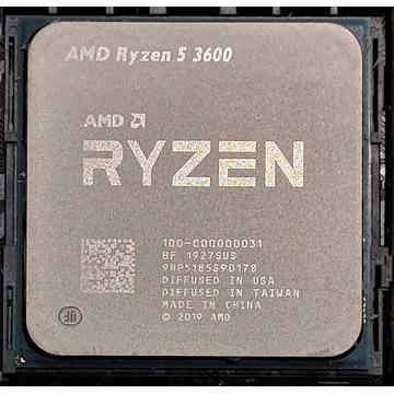 AMD Ryzen 5 3600 + chłodzenie Fera 3 RGB HE1224