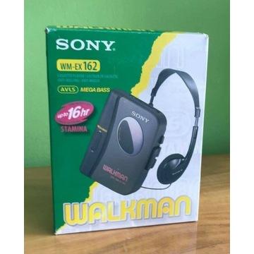 Walkman Sony WM EX162 + BOX, SŁUCHAWKI, NOWY!
