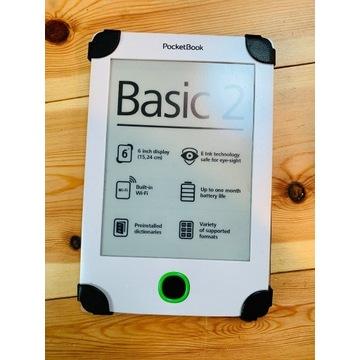 Czytnik ebook PocketBook 614 Basic 2 + gratis etui