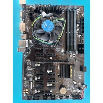 Płyta główna Gigabyte GA-B250 Fintech + G3930T