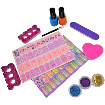 Zabawkowy zestaw do MANICURE dla dzieci