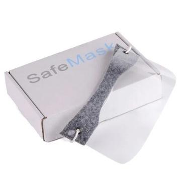 5x Maska ochronna Mini przyłbica na nos i usta