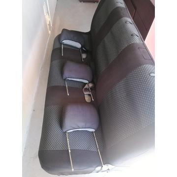 Kanapa Fotele 3 os + Pokrowiec VW T4 bus van
