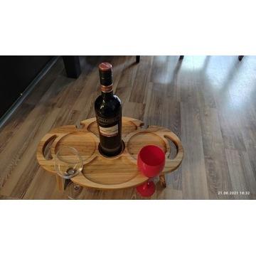 Stół do wina drewniany stół piknikowy