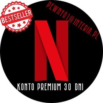 NET-FLIX KONT-O PREMIU-M 30 DNI #GWARANCJA
