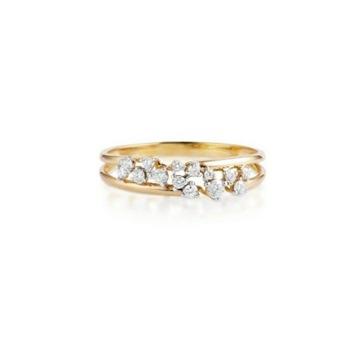 pierścionek z brylantami w.kruk