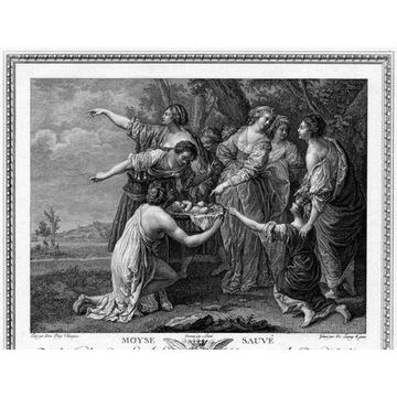 de Silva y Velázquez, Ocalenie Mojżesza, 1786
