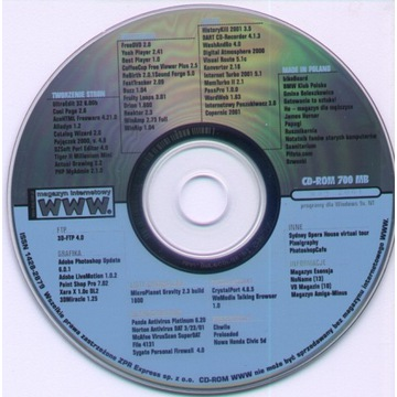 WWW. Magazyn internetowy - 40 płyt CD