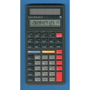 Kalkulator naukowy solarny Texas Instruments TI-34
