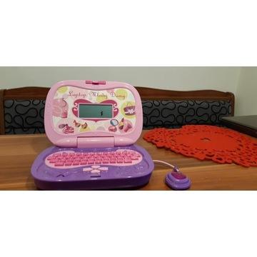 Laptop dla księżniczki edukacyjny gry zabawy nauka