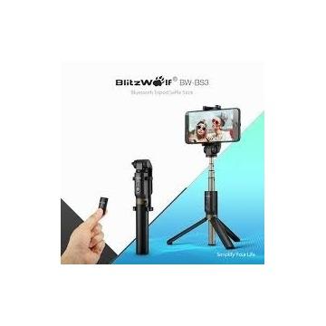 NOWY Selfie stick z bluetooth BLITWOLF BW-BS3