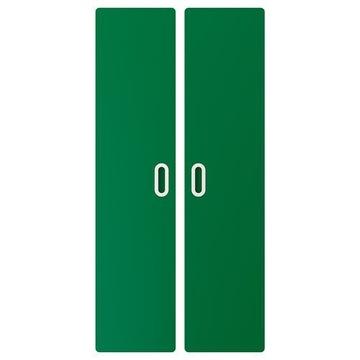 IKEA Fronty Fritids zielony 128cm do Stuva