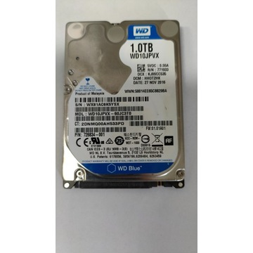 Dysk twardy HDD 1TB 1000GB WD