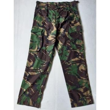 Spodnie wojskowe /pas 88 cm/ DPM brytyjskie BDB+