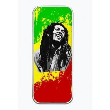 Piórnik metalowy Bob Marley Reggae