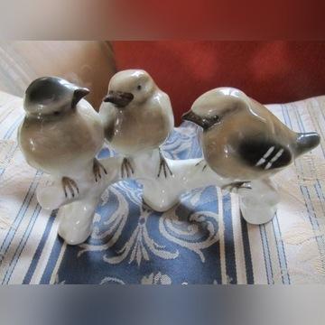 Grefenthal Turyngia Figura-Grupa 3.Ptaków.ok.1900r